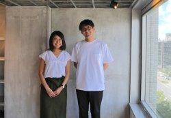 ▲株式会社インフォバーンの井登 友一氏(右)と、GCカタパルトコミュニケーションマネージャーの湊 麻理子(左)
