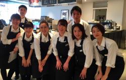 ▲DEAN & DELUCA カフェ ODAKYU 湘南GATE店のオープニング時