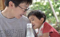 ▲3歳になる息子との時間を何よりも大事にしたいと考える大貫