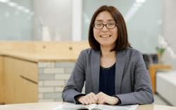 ▲キャリア面談を一手に担うのは、国家資格キャリアコンサルタントを持つ池田幸恵