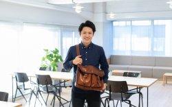 ▲土屋鞄のデジタルマーケティング業務を担当する福知