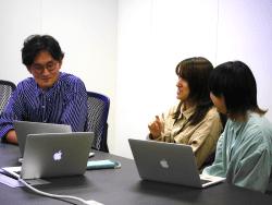 ▲デザイナーチームの勉強会