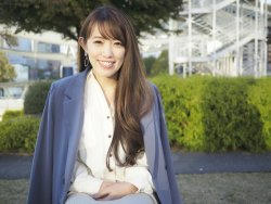 ▲経営管理セクション マネージャーの亀田 小百合