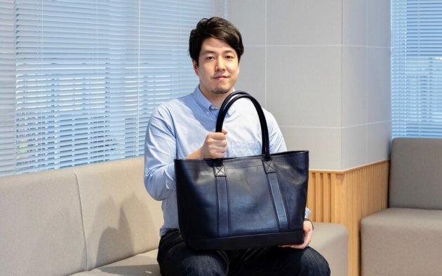 ▲土屋鞄の人財開発課長 西島悠蔵