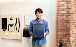 ▲ランドセル専門店「童具店」・横浜で店長を担当している上田大
