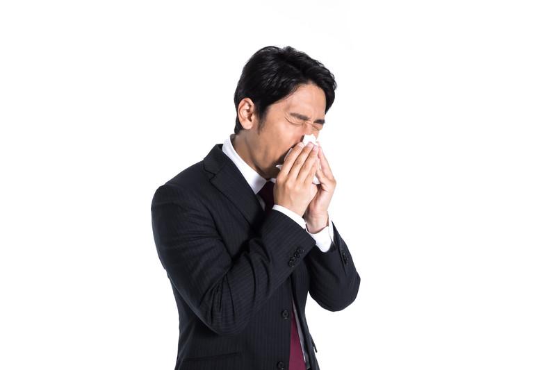 ビジネスパーソンが苦しむのも花粉症