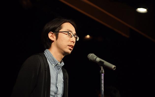 ▲社内アワードでAPC Award2017 で「管理職賞」を受賞した荻野満