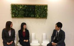▲(左から)須田、小笠原、古谷野