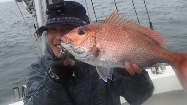▲趣味の釣りでの1枚