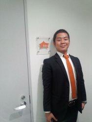 ▲大阪支社立ち上げ時