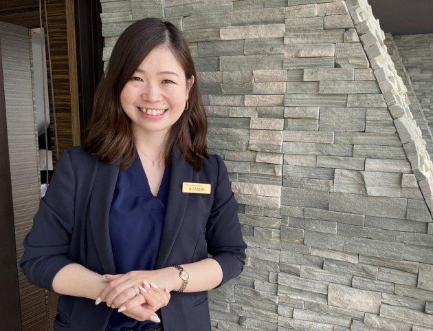 ▲2012年新卒入社の髙野は入社4年目でユニットマネージャーに就任