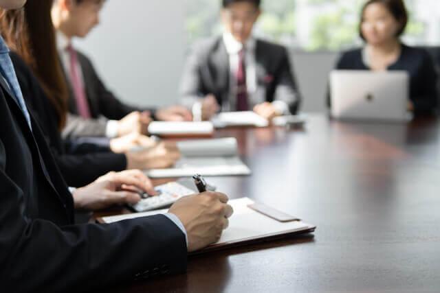 経営会議に女性はいる?
