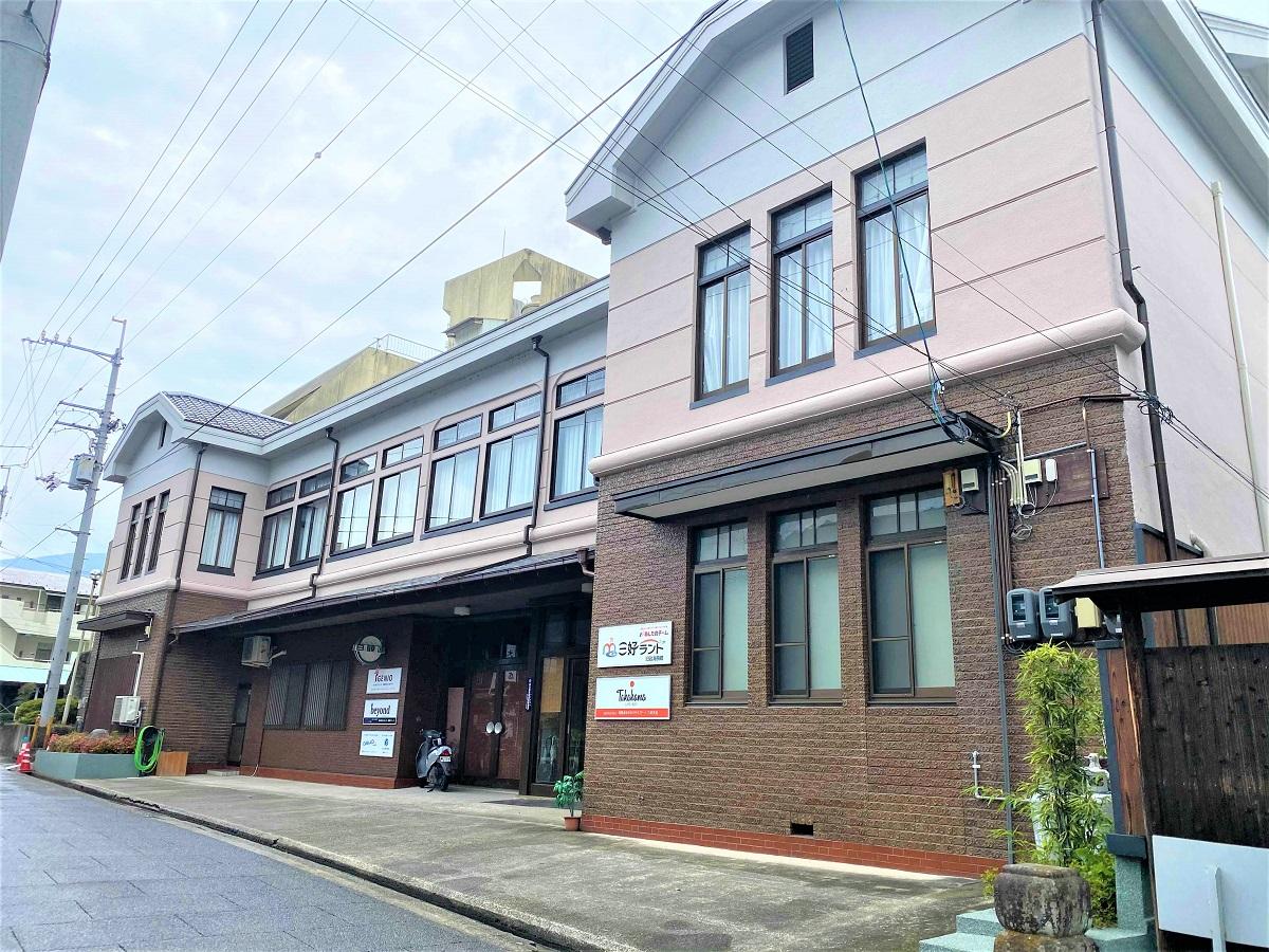 徳島県三好市のサテライトオフィス「三好ランド」は元旅館(あしたのチーム提供)