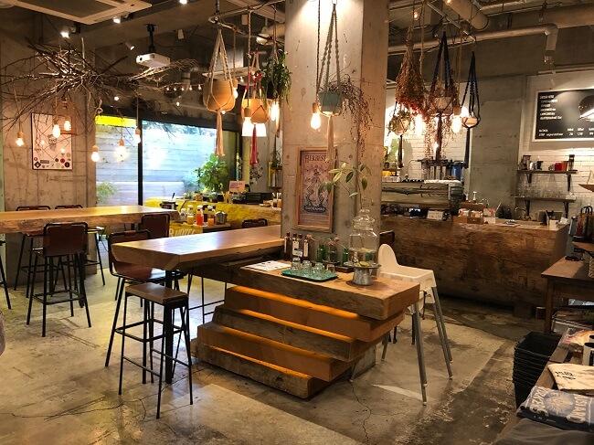 1階にカフェがある生活