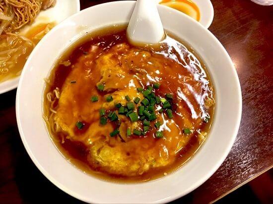 大新の「天津麺」。リピートしたくなる町中華。