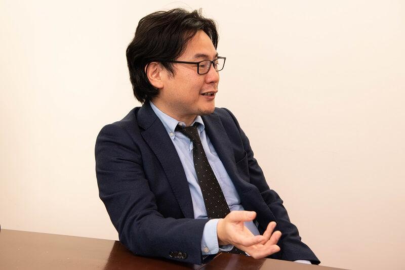 グローバルウェイ 取締役 ビジネスアプリケーション事業部長 梁行秀(やな・ゆきひで)
