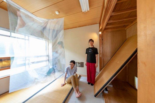 ▲大学研究室展示の様子(画面中央が串田)写真:松尾 宇人